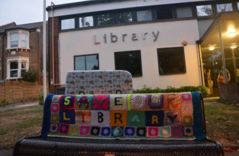 We're working hard to save our LIbrary