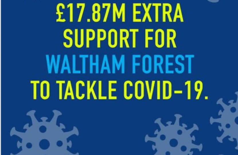 £18 m for waltham forest